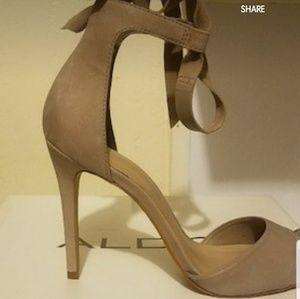 cdbe71def9a4 Aldo Shoes - Aldo open toe nude heels